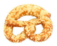 Pretzel with cheese Stock Photo