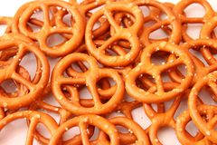 Pretzel cookies Stock Photos