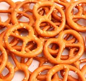 Pretzel cookies Stock Photo