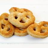 Pretzel cookies Royalty Free Stock Photography