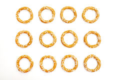 Pretzel crackers Stock Images