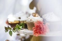 Pretzel Cupcake Royalty Free Stock Images
