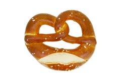 pretzel food isolated stock photo