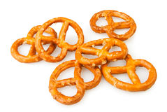 Pretzel many Stock Photo