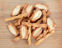 Pretzel nuts Stock Photo