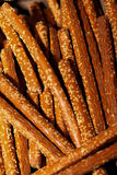 Pretzel Rods Stock Photography