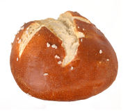 Pretzel roll Royalty Free Stock Photos