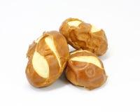 Pretzel Rolls Bun Bread Stock Images
