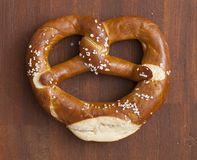 Pretzel with salt Stock Photography