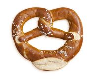 Pretzel with salt Royalty Free Stock Image
