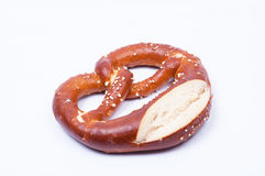 Pretzel salted Royalty Free Stock Photography