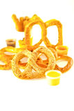 Pretzel sesame Royalty Free Stock Photos