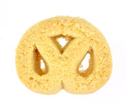 Pretzel Shaped Sugar Cookie Stock Photos