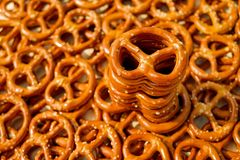 Pretzel, Snack Royalty Free Stock Images