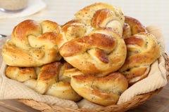 Pretzel Snack Stock Image