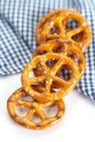 Pretzel snack Royalty Free Stock Images