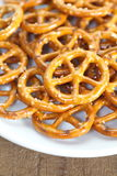 Pretzel snack Stock Images
