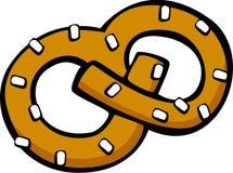 Pretzel snack vector illustration. Vector illustration of a pretzel snack Royalty Free Stock Image