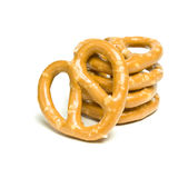 Pretzel Stack Stock Photo