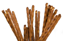 Pretzel sticks isolated Stock Photo