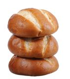 Pretzel style bread Stock Photography