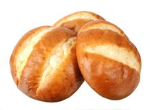 Pretzel style bread Royalty Free Stock Photography