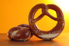 Pretzel sunshine Stock Photo