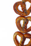 Pretzel on the table Royalty Free Stock Photography