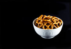 Pretzel Twists Royalty Free Stock Images