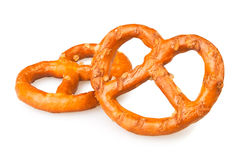 Pretzel two Royalty Free Stock Images