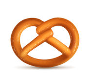 Pretzel, vector illustration Stock Photos