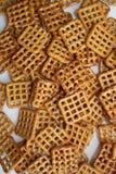pretzels βάφλα Στοκ φωτογραφία με δικαίωμα ελεύθερης χρήσης