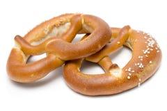 pretzels δύο Στοκ φωτογραφία με δικαίωμα ελεύθερης χρήσης