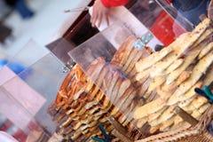 pretzels πώληση Στοκ φωτογραφία με δικαίωμα ελεύθερης χρήσης