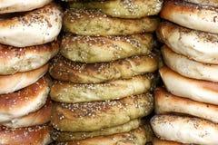 pretzels σουσάμι Στοκ εικόνα με δικαίωμα ελεύθερης χρήσης