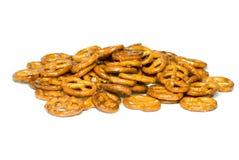 pretzels σωρών Στοκ Φωτογραφία