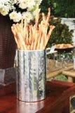 Pretzels ως πρόχειρο φαγητό Στοκ φωτογραφία με δικαίωμα ελεύθερης χρήσης