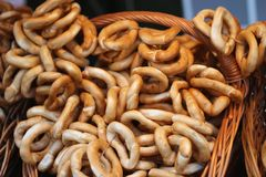 pretzels Photographie stock