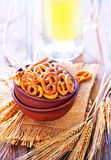 pretzels royalty-vrije stock foto's