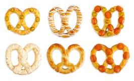 pretzels photographie stock