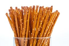 Pretzels as a snack Stock Photography