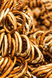 Pretzels background Royalty Free Stock Photo