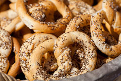 Pretzels and bakeries Royalty Free Stock Photo