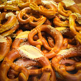 Pretzels in a bakery Royalty Free Stock Photo