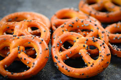 Pretzels Stock Photo