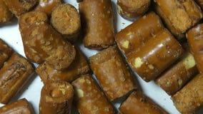 Pretzels, Junk Foods, Baked Snacks stock video