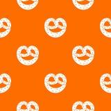 Pretzels pattern seamless Royalty Free Stock Photography