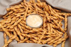 Pretzels rods Royalty Free Stock Photography