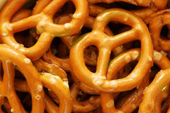 Pretzels with salt royalty free stock images