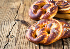 Pretzels, traditional German baked bread Royalty Free Stock Photo